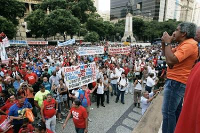 Brasil: Justiça Militar pede prisão de 11 líderes grevistas no Rio de Janeiro