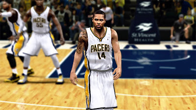 NBA 2K13 DJ Augustin Tattoos Update