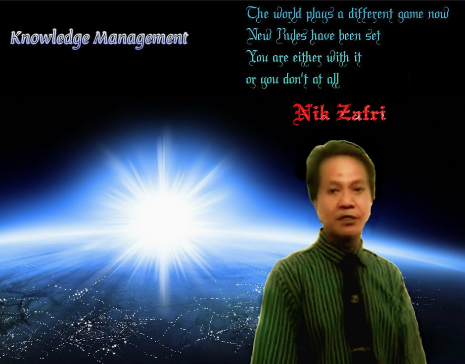 Global Knowledge Management & Economy - Nik Zafri