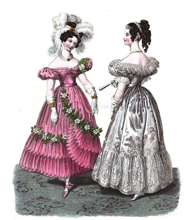 1830 balldress