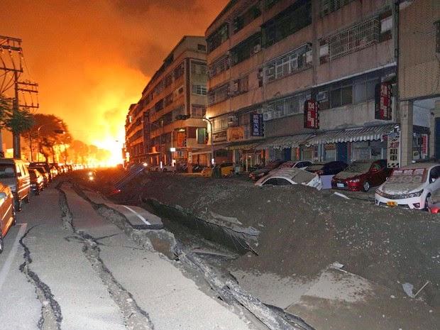 Bombas? Estranhas explosões abalam Taiwan, Kiev e Reino Unido