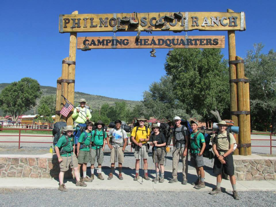Jacob's Philmont Trek with Muscogee Lodge Crew