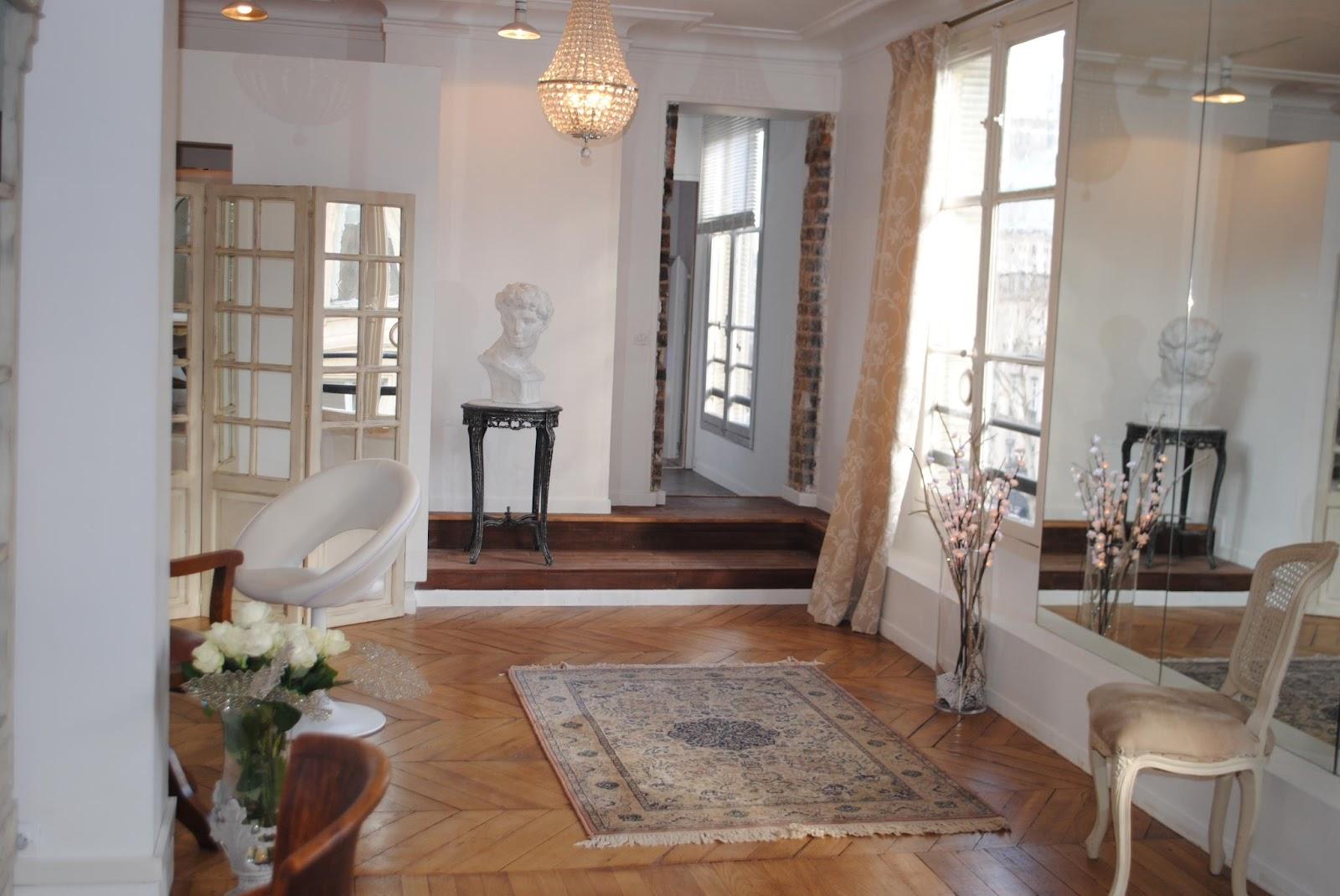 beaut brune massage dans un superbe boudoir parisien agn s paya. Black Bedroom Furniture Sets. Home Design Ideas
