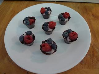 individual berry desserts
