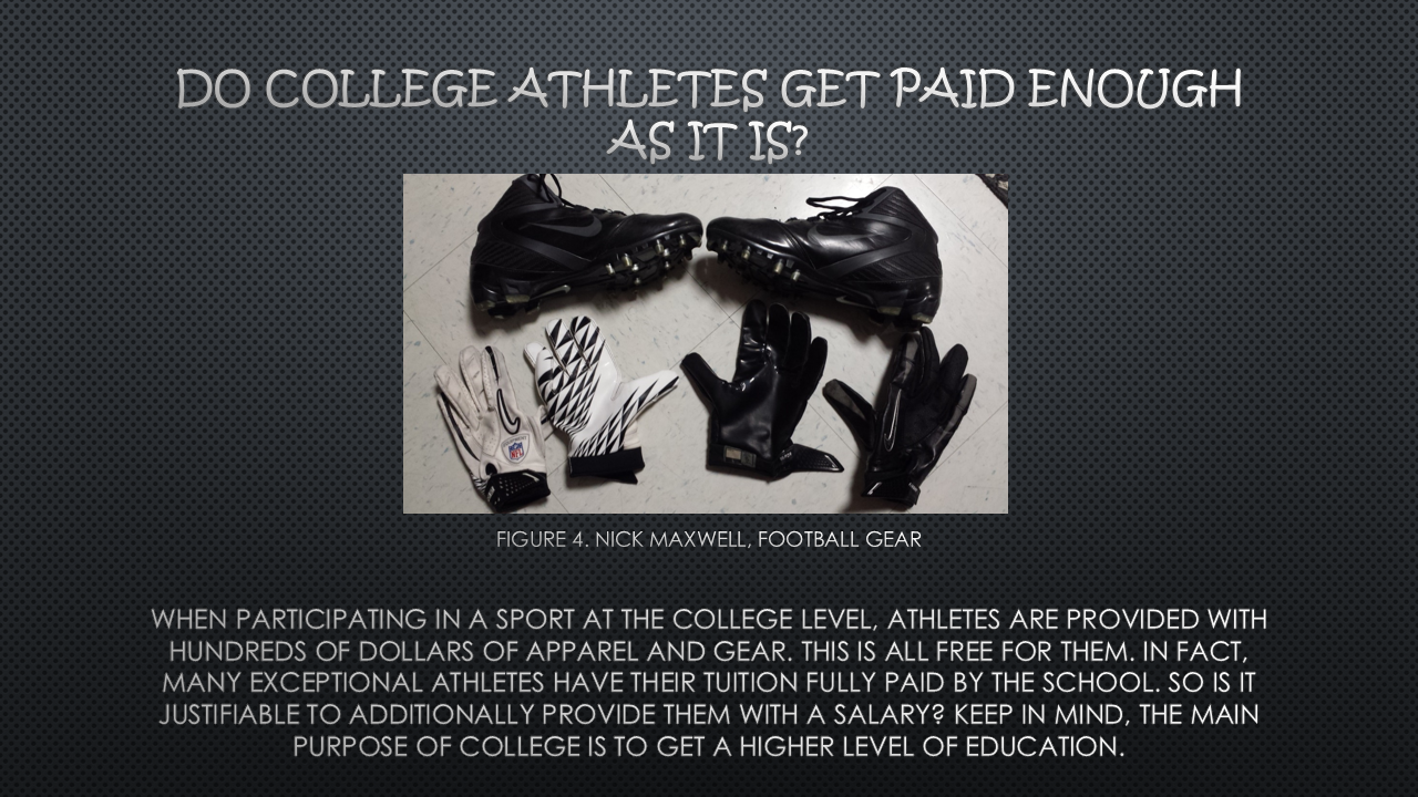 college athletes should get paid Student athletes should pursue all types of scholarships and financial aid, not   for college athletes is that they may actually be paid for playing at some point in.