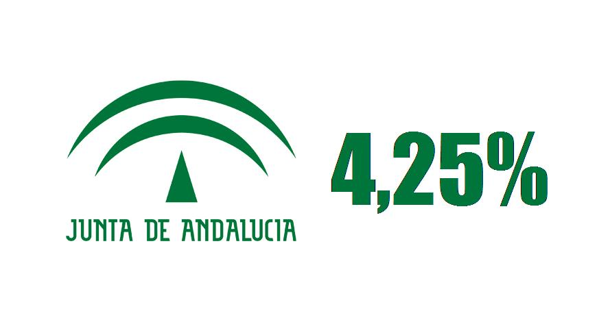 Bonos de la junta de andalucia al 4 25 for Oficina junta de andalucia