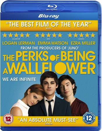 Poster Of The Perks of Being a Wallflower 2012 English 300MB   Free Download Watch Online