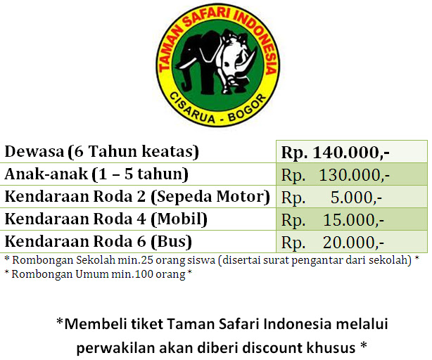 Indonesia Safari Tours Htm Taman Safari Indonesia