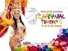 artistas del carnaval tuxpan 2013