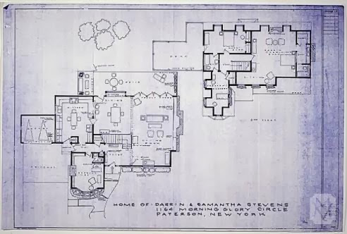 Bewitched house tour leslie anne tarabella for Home floor plans with pictures