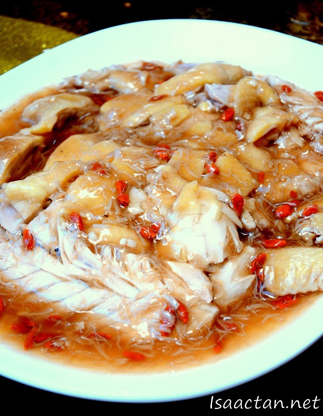 #2 Steamed Kampung Chicken with Dried Scallops