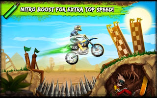 Screenshots of the Bike Rivals for Android tablet, phone.