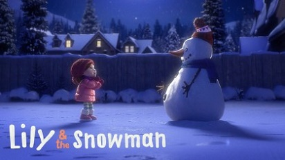Lily & the Snowman Lily si Omul de zapada video online