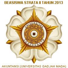 Beasiswa S2 2013 Indonesia Universitas Gadjah Mada (UGM) Bidang Akuntansi