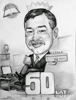 femtiårsdag gave til skolens rektor