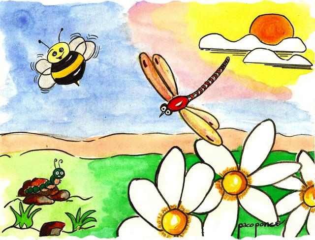 Arcoiris Aprendamos de las plantas y los animales