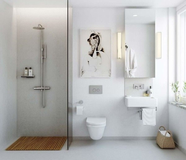 bathroom scandinavian style