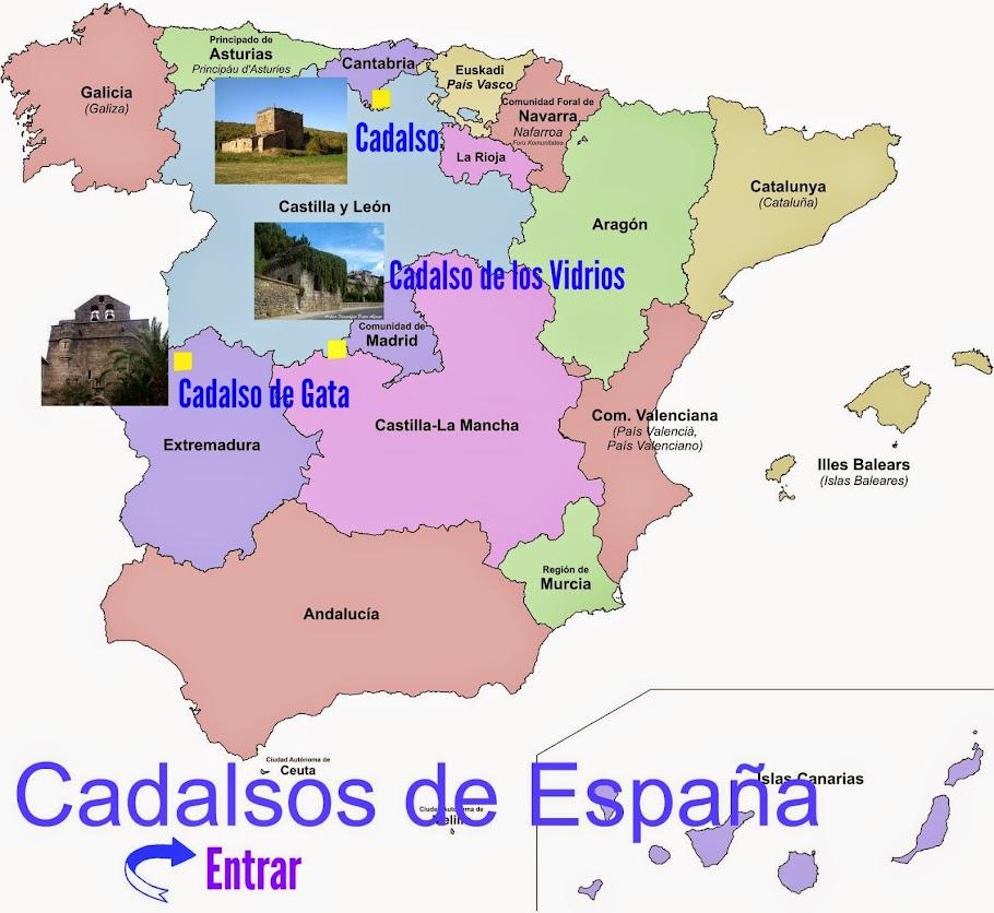 Cadalsos de España