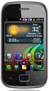 Micromax A25 Smarty dual SIM smart phone