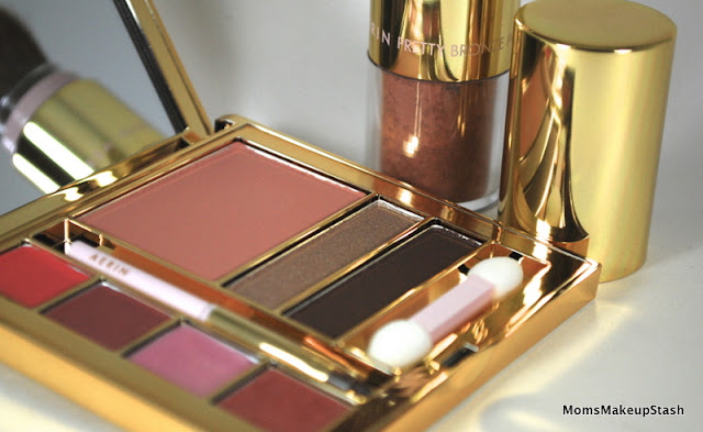 Estée Lauder: AERIN Shell Color Summer Collection featuring the Style Summer Palette & Illuminating Powder - Moms Makeup Stash