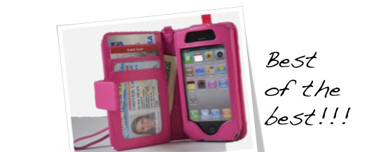 The Best Selling iPhone 4 Wallet Case