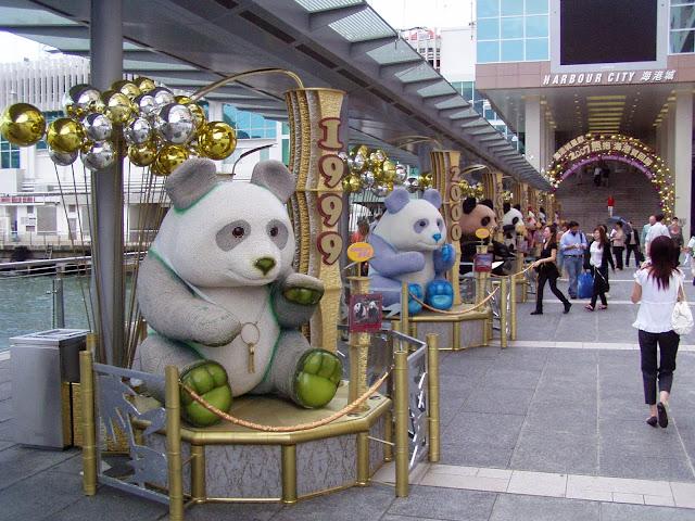 Tsim Sha Tsui Hong Kong Panda
