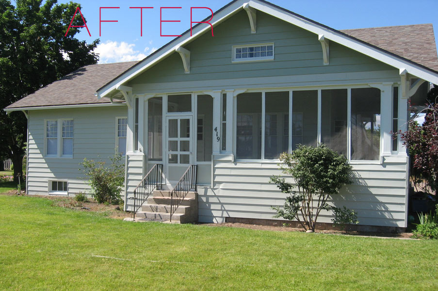 Spray tech house painting boise new house paint before - Paint sprayer for house exterior ...
