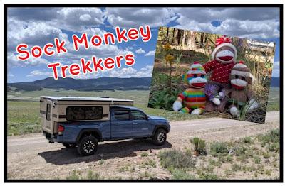 Sock Monkey Trekkers