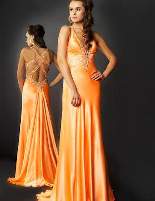 Cass. Stone II Prom Dresses 6055A-HotOrangeIMG_7738 2