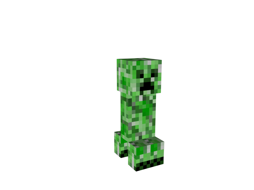 how to make creeper in minecraft