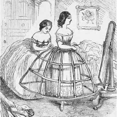 Some Girl...: The Crinoline Cage