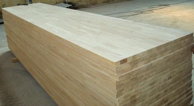 Solid wood laminated board product pt puspa mandiri semarang