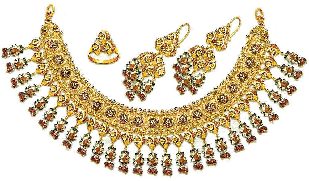 Pakistani Gold Jewelry Designs