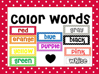 Color Words - Lessons - Tes Teach