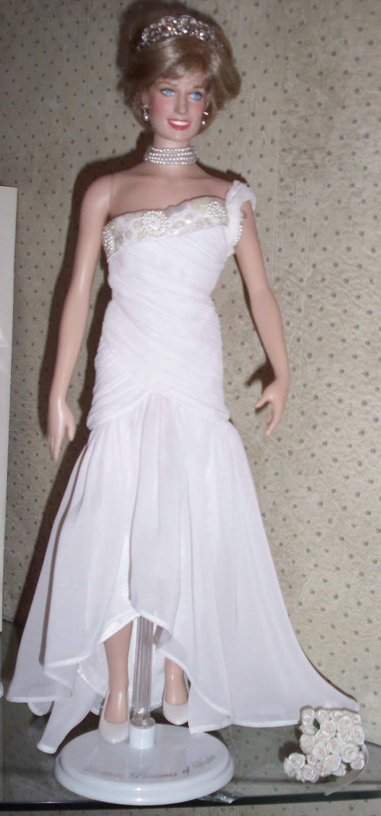 Doll Happy: Princess Diana Franklin Mint Wardrobe Doll