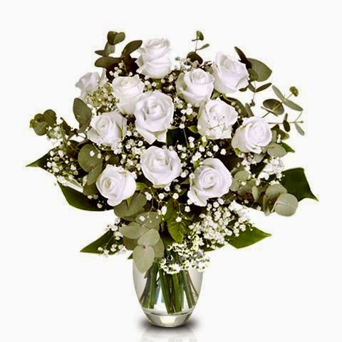 Love and Friendship 12 white roses delivery in Bolivia