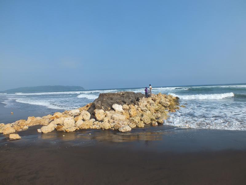 Pangandaran Beach Scenery