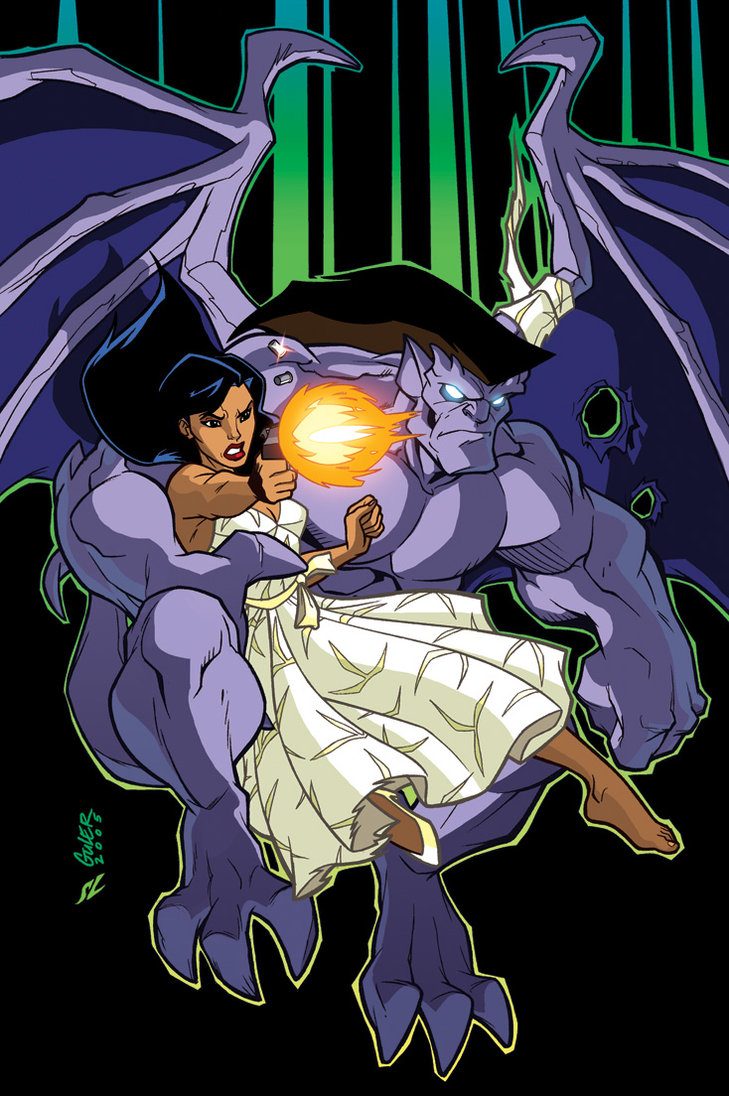 Disney wiki,disney,defenders of the night,1995,gargoyles,gargoyles (marvel comics),gargoyles (slave labor graphics