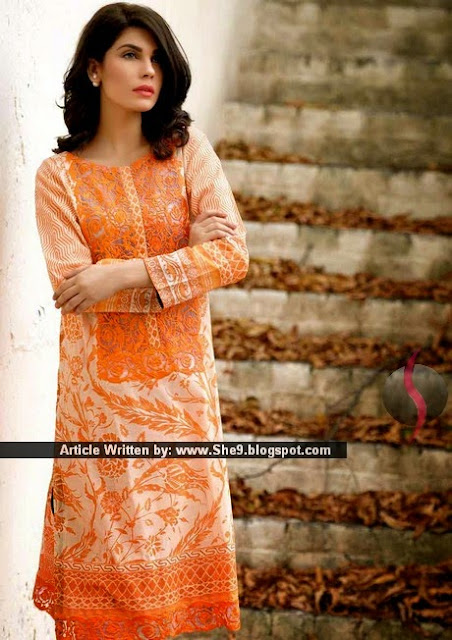 Sobia Nazir Tunic/Kurti Collection for Summer 2015-2016