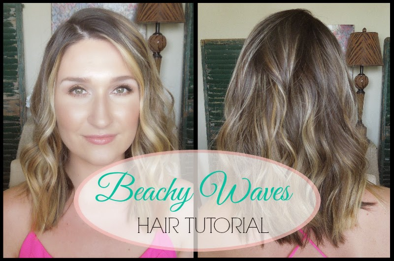 Casey Ferguson: How I Style My Hair|Beachy Waves Hair Tutorial