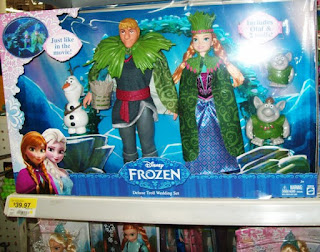 Disney Frozen Troll Wedding Set