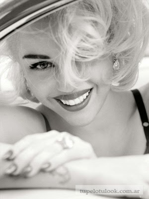 cortes de pelo 2014 Miley look Marilyn