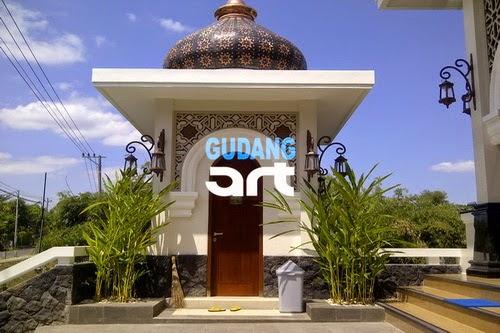 ornamen kubah masjid