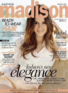 Rachel Bilson in Madison Magazine, March 2011 Issue