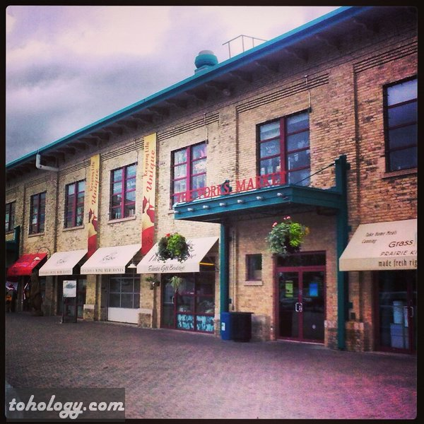 The Forks Market in Winnipeg Canada