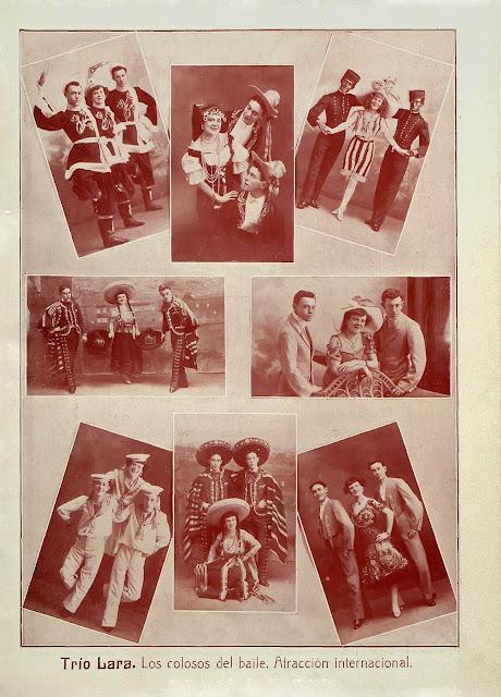 baile, baile español, trio lara, triolara, Trío Lara, variedades, varietes,