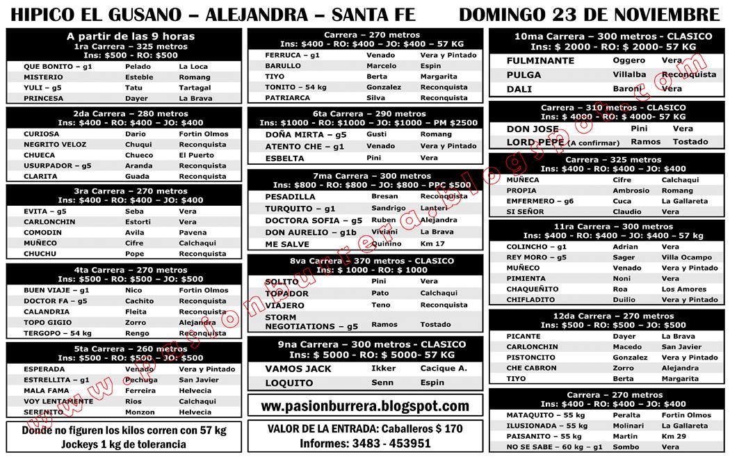 PROGRAMA - EL GUSANO - 23