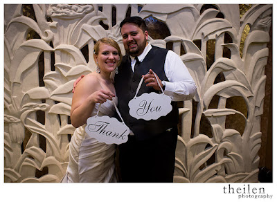 Wedding Thank You Photo l Theilen Photo l Atlantis Reno l Take the Cake Event Planning