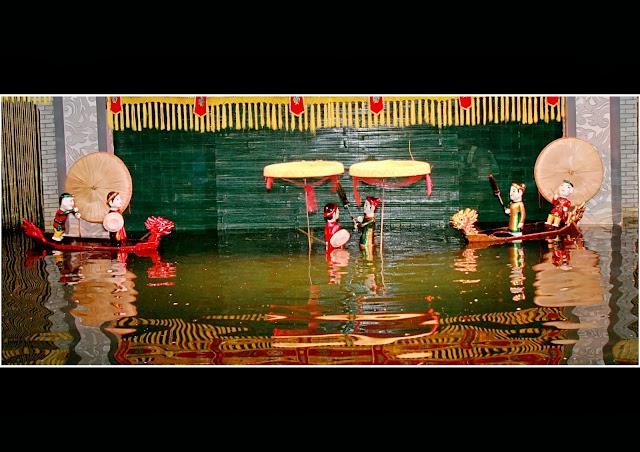 Le record du théâtre des marionnettes Thang Long, Ha noi
