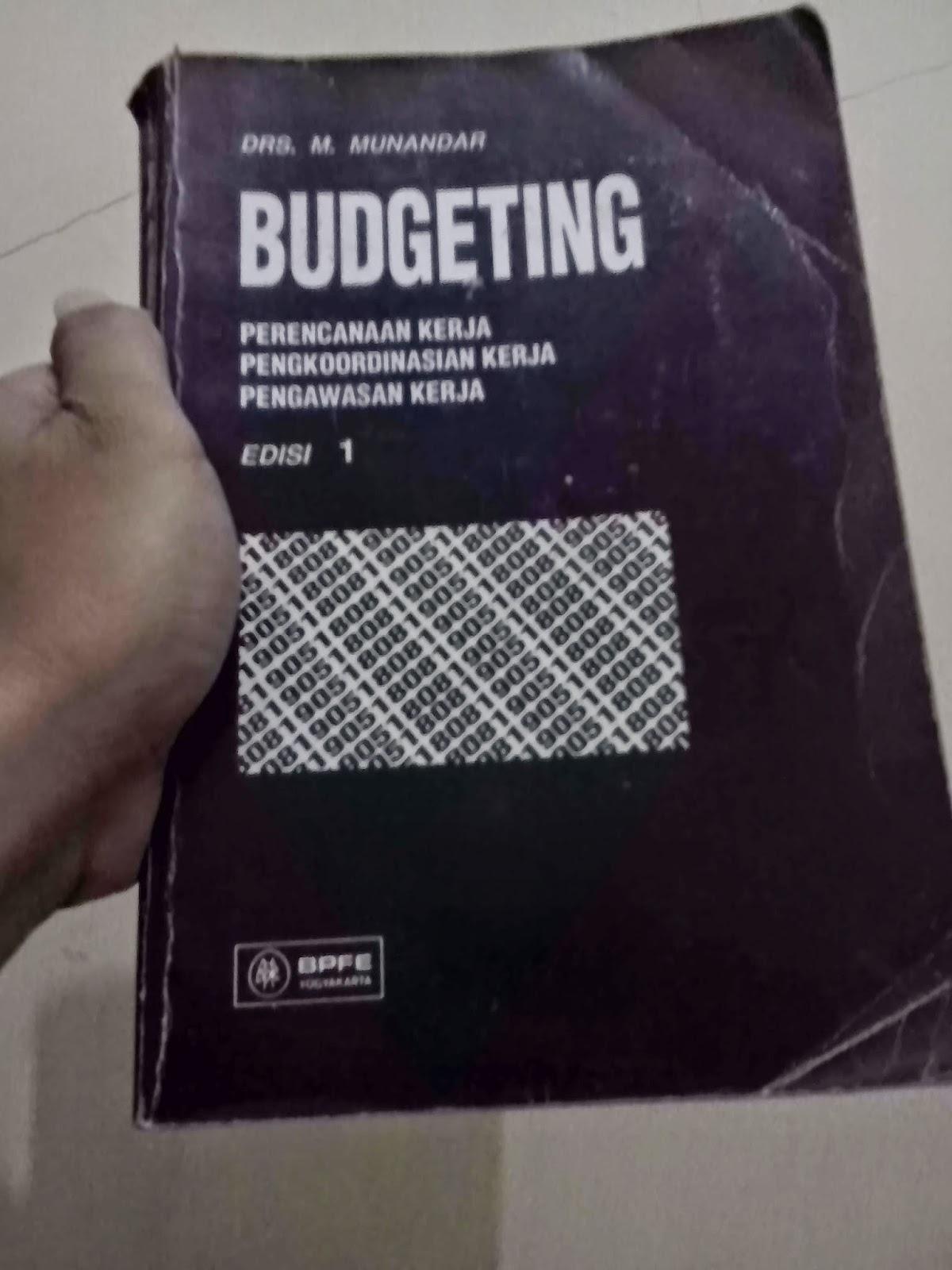 Pengertian, Unsur dan Manfaat Budget